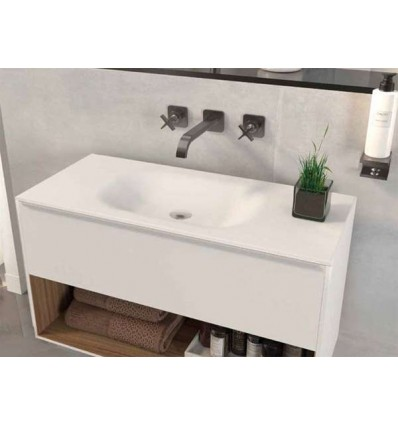 LAVABO SOLID SURFACE LHASA A MEDIDA