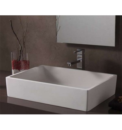 LAVABO SOLID SURFACE MILANO