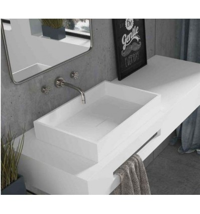 LAVABO SOLID SURFACE QUARE