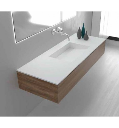 LAVABO SOLID SURFACE TYRION A MEDIDA