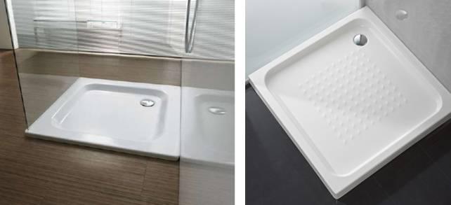 Casas cocinas mueble tamanos de platos de ducha - Como limpiar el plato de ducha ...