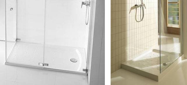 Platos de ducha. Cómo elegir el más adecuado para mi baño?