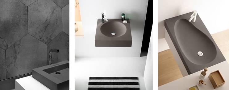 lavabos sobreencimera la combinacin del claro y oscuro define los espacios pequeos dotndolos de personalidad y elegancia si dispones de poco espacio - Lavabos De Diseo