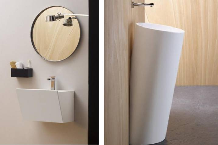 lavabos solid surface